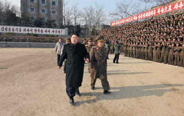 The White House might use military force to deal with North Korea.