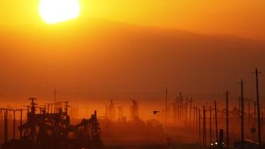 Fracking in California.