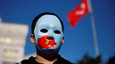 A Uighur Muslim.