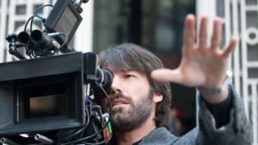 "Ben Affleck on the set of ""Argo"""