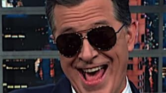 Jimmy Kimmel and Stephen Colbert on Trump's banana republic