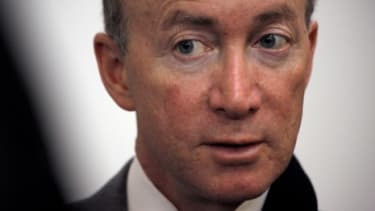 Indiana Gov. Mitch Daniels, viewed by the GOP establishment as one of the party's most promising presidential prospects, officially opted out of the race Sunday.
