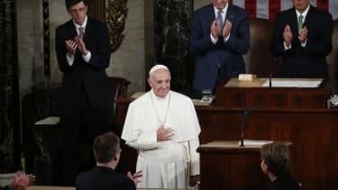 Pope Francis goes to Washington.