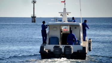 Search and rescue team for Indonesian submarine.