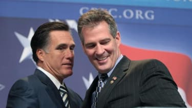 Scott Brown says if Mitt Romney were president 'we would not be worrying about Ebola right now'