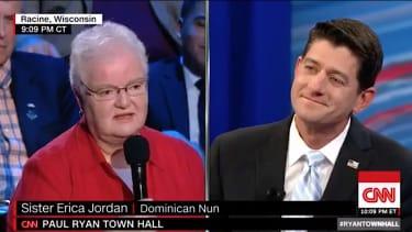Paul Ryan takes on a nun