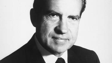 Former President Richard Nixon.