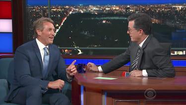 Sen. Jeff Flake and Stephen Colbert talk health care