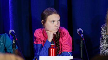Greta Thunberg at the United Nations