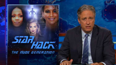 Jon Stewart blames everyone for the nude celebrity photos hack (except the celebrities)