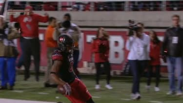 Premature touchdown celebration results in incredible touchdown for other team