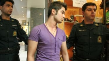 Iran's morality police detain a man with unacceptable hair and clothing back in 2008: In recent weeks, Tehran has cracked down on shopkeepers selling Barbie dolls.
