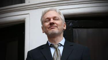 Julian Assange, of WikiLeaks, is releasing personal information