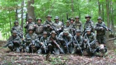 A group of Hutaree militia members.