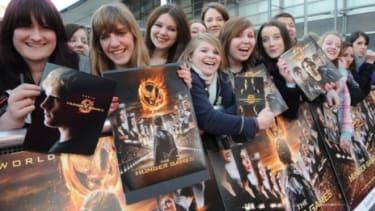 """The Hunger Games"" fans show off memorabilia"