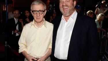 Woody Allen and Harvey Weinstein.