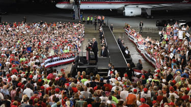 Trump will hold a campaign-style rally in Florida on Saturday