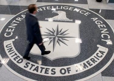 The CIA logo.