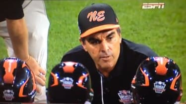 This Little League coach gives the perfect pep talk after his team's loss
