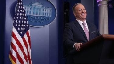 Sean Spicer and White House propaganda.