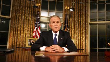 George Bush addresses the nation on Iraq, Sept. 13, 2007.