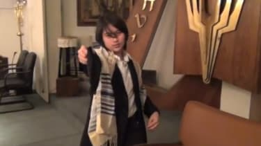 """""""Easy come, easy go, will you say shalom?"""""""