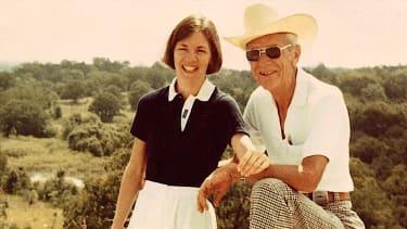Elizabeth Warren with her grandfather