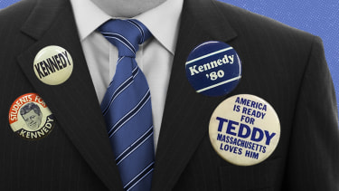 Kennedy buttons.