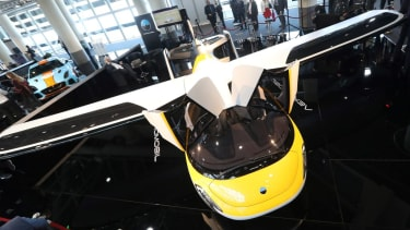 A flying car is getting lots of attention.