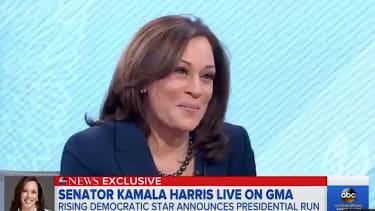 Sen. Kamaal Harris enters the 2020 presidential race