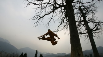 Kung Fu Grandma becomes media sensation.