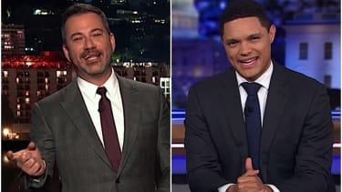 Trevor Noah and Jimmy Kimmel on Trump and A$AP Rocky