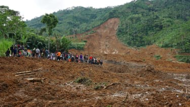 Indonesian mudslide kills at least 17 people, leaves dozens more missing
