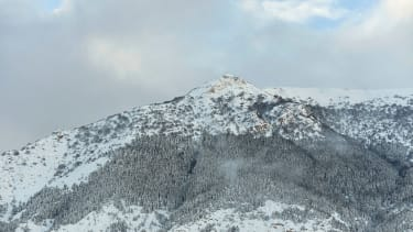 The mountain where an avalanche buried a hotel in central Italy