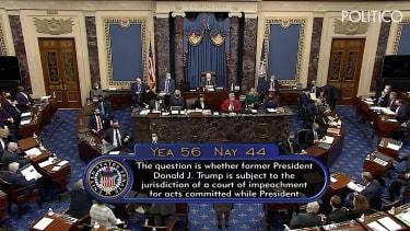 Day 1 of Trump impeachment trial