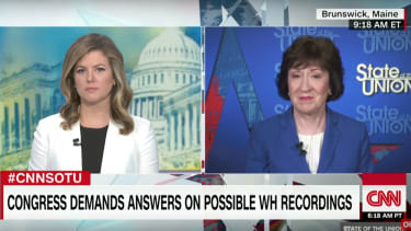 Susan Collins speaks about the Comey testimony