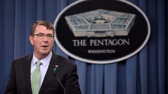 Defense Secretary Ash Carter.