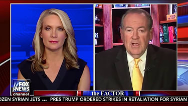 Mike Huckabee jokes about kissing women on Fox News
