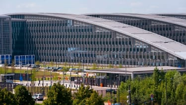 The new NATO building in Brussels.