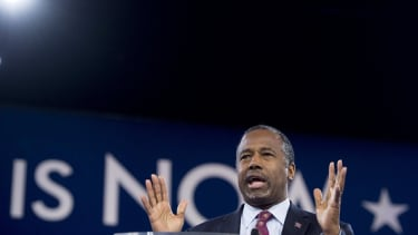 """Ben Carson joked that his mother would've """"shot some of the dishonest reporters"""" covering his campaign for the presidency."""