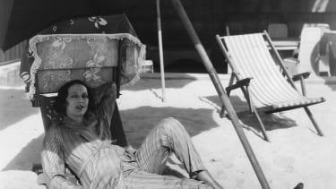American actress Carmel Myers.