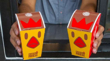 Burger King's chicken fries are back
