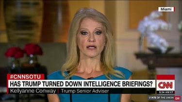Kellyanne Conway on Trump and intelligence briefings