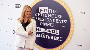 ost Samantha Bee attends Full Frontal With Samantha Bee's Not The White House Correspondents' Dinner