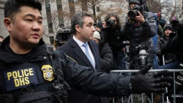 Micheal Cohen leaves court