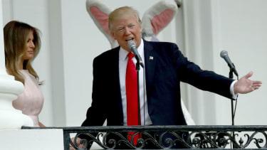 President Trump Easter Egg Roll.