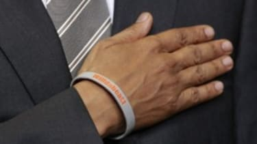 Wristbanding together