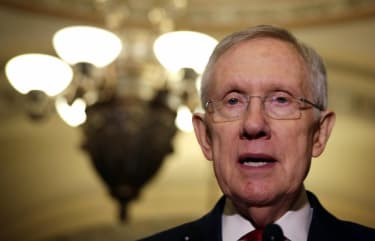 Harry Reid could be blind in one eye after exercise injury