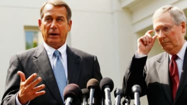 House GOP leader John Boehner seems to have changed his mind on Obama's tax cut plans.