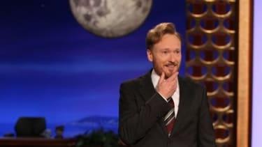 """""""Conan"""" premiere on TBS."""